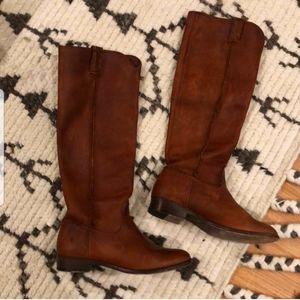 Reposh Frye roper boots